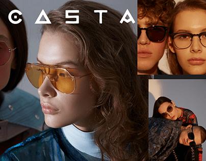 Редизайн интернет- магазина солнцезащитных очков CASTA