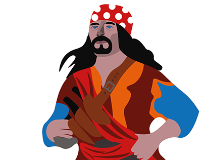 Illustration Pirate des Caraibes