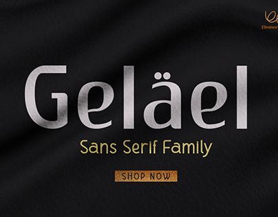 FREE | Gelael Modern & Elegant Sans Serif Font
