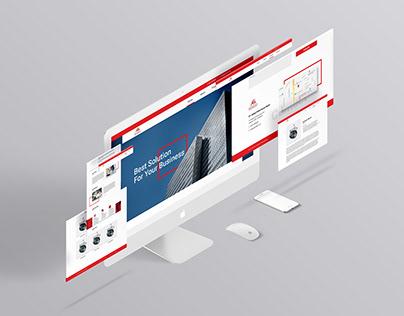 Glomiks | Website Design Project