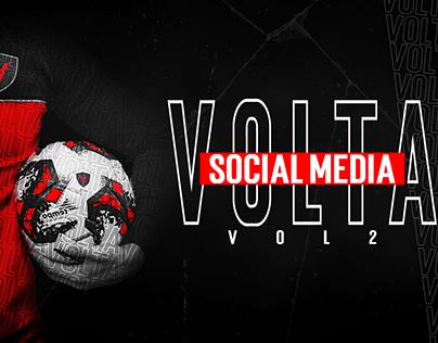"""Social Media Project for """"VOLTA"""" vol 2"""