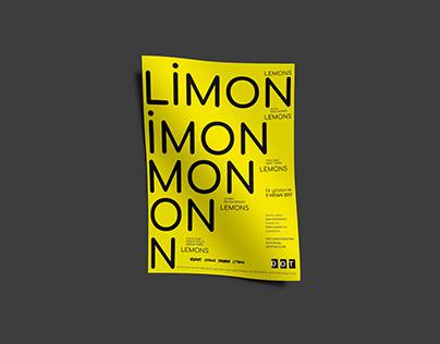 Limon (Lemons) Poster Design
