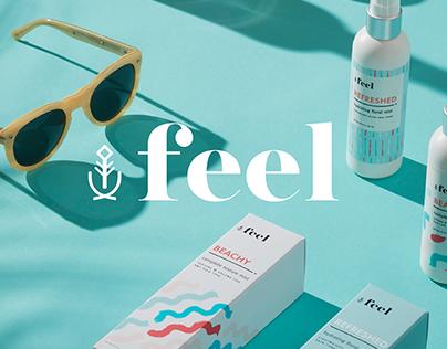 Feel Brand & Beauty Package Design