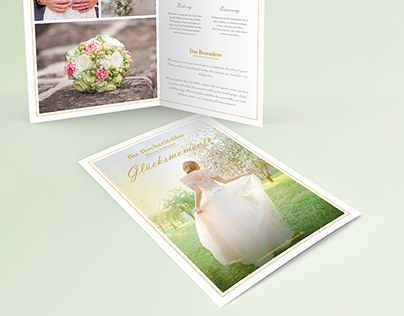 Flyer Wedding