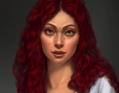 Realistic characters design and final art