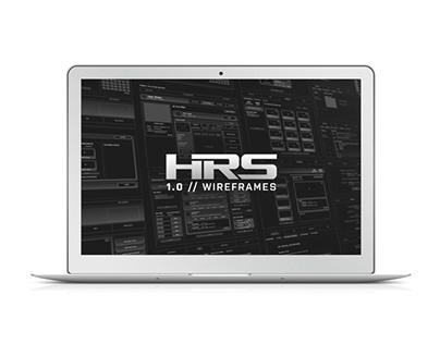 HomeRuns 1.0 // Wireframes