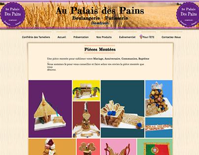 Site Web Au Palais Des Pains