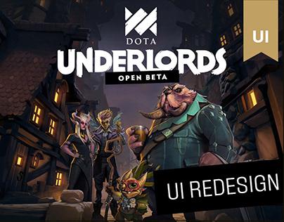 Underlords UI Redesign