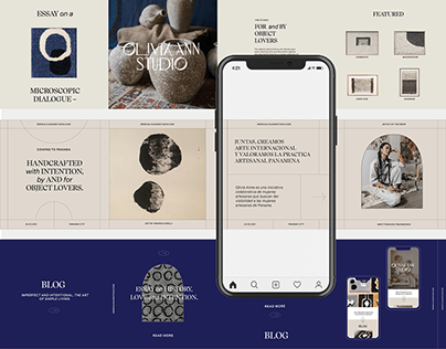Olivia Ann Studio :: Visual Identity