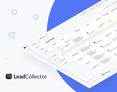 UI/UX for LeadCollector analytics tool