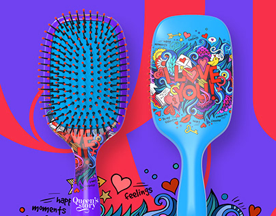 Queen's Story Hairbrushes