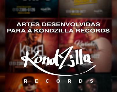ARTES DESENVOLVIDAS PARA A KONDZILLA RECORDS EM 2018