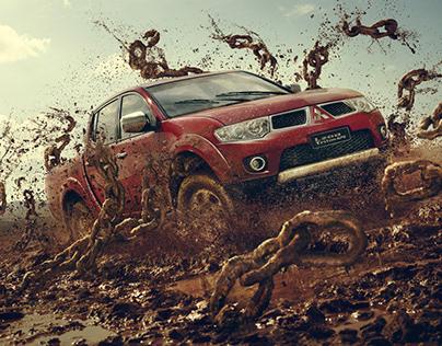 Mitsubishi Mud Chains