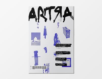 ARTRA Magazine Redesign
