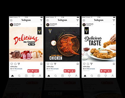 Social Media: Restaurant Product Marketing Banner