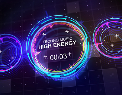 Techno Music Visualizer (After Effects)