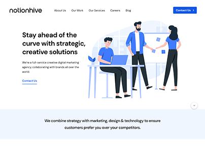 Notionhive: Branding