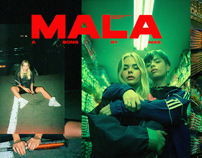 MALA by MAR music video 35mm