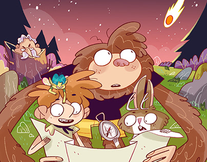 CREATURE CAMPERS. Surprise under the stars.
