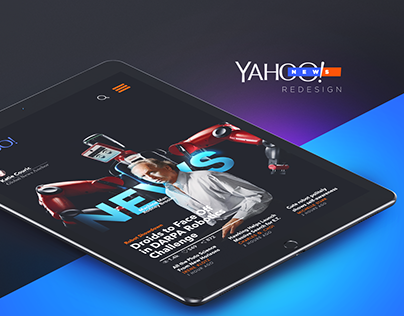 Yahoo! News Redesign Experience