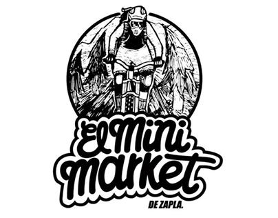 El Mini Market de Zapla Logo