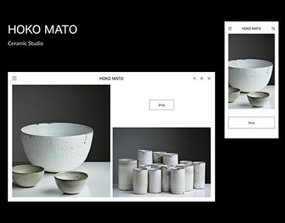 Responsive Design of a Ceramic Studio