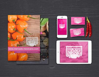 Mercado Mexicano - Branding & Web Design