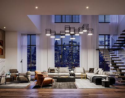 NYC Apartment - CGI