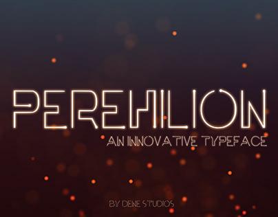 PEREHILION - An Innovative Typeface