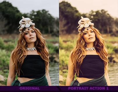 Portrait Actions IX