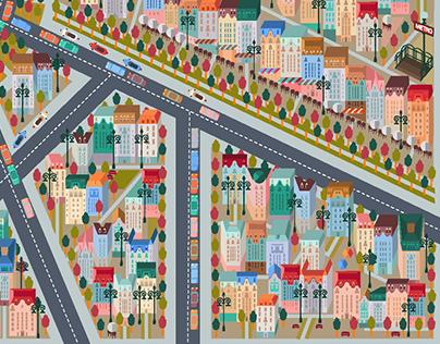CITY RUSH game