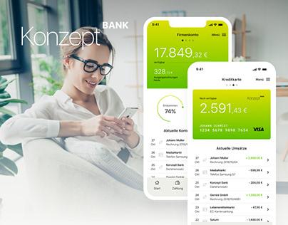 Credit application concept