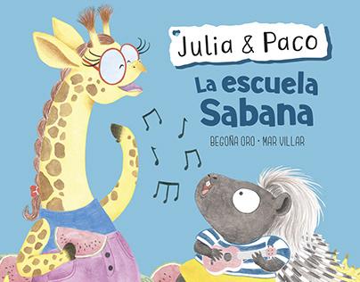 Julia & Paco - La escuela Sabana