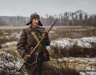 "Shooting of the film ""Veteran"" 2020"