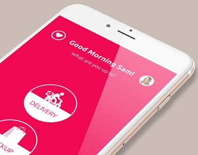 Ordering APP - iOS & Android Dual Platform APP Design