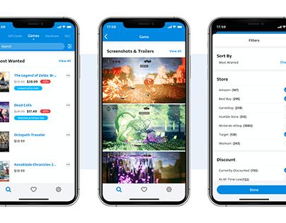 Deku Deals - iOS App Concept