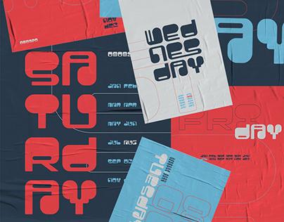 RUTA23 Typography Poster Series