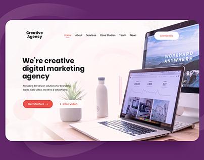 Digital Agency - Hero Banner