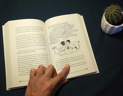 Illustration du roman de N. Quetzal
