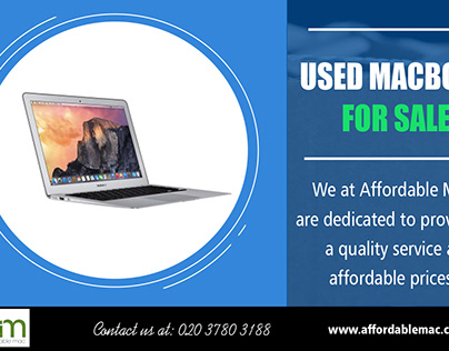 Used Macbook For Sale| 02037803188 | affordablemac.co.u