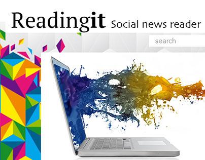 Readingit News Feeds website