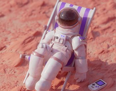 Chilling on Mars