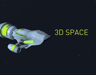 Academy Class: 3D Space