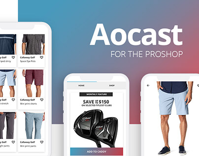 A proshop shopping app