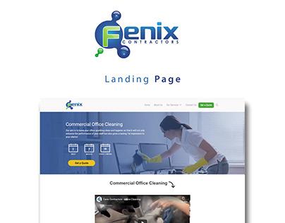 Fenix Contractors - Landing Page + Search Campaigns