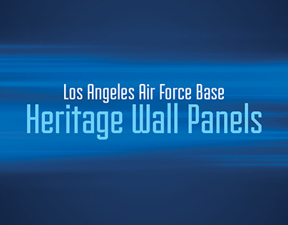 Los Angeles Air Force Base Heritage Wall Panels