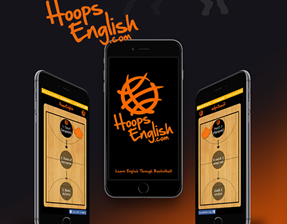 Hoops English App - UI/UX Design Concepts