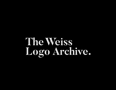 The Weiss Logo Archive