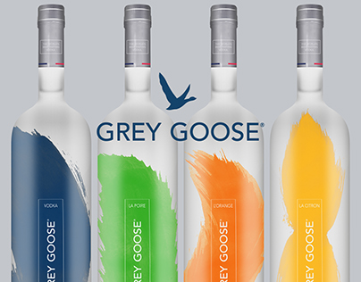 Grey Goose Vodka — Redesign concept