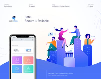 CashStash - Mobile E-wallet App